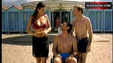 Manuela Arcuri Bikini Scene – Ruota Libera