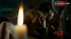 3. Natalia Worner Sex Scene – The Pillars Of The Earth