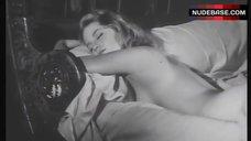 Alexandra Stewart Lying Nude in Bed – L' Eau A La Bouche