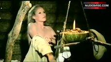 2. Ursula Andress Boobs Scene – Mountain Of The Cannibal God