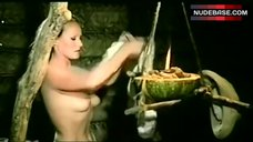 3. Ursula Andress Boobs Scene – Mountain Of The Cannibal God