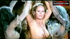 Ursula Andress Nude and Bound – Mountain Of The Cannibal God