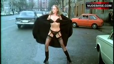 Ursula Andress in Sexy Lingerie on Street – Tigers In Lipstick
