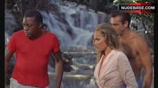 Ursula Andress in Wet See Through Blouse - Dr. No