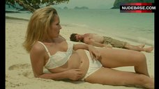 Ursula Andress in Lace Bra and Panties on Beach – Up To His Ears