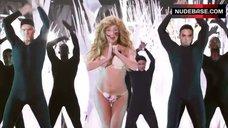 10. Lady Gaga in Thong Bikini – Mtv Video Music Awards