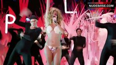 Lady Gaga in Thong Bikini – Mtv Video Music Awards