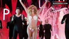 5. Lady Gaga in Thong Bikini – Mtv Video Music Awards