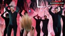 9. Lady Gaga in Thong Bikini – Mtv Video Music Awards