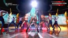 Lady Gaga Shaking Ass – X Factor (France)