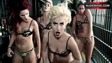 Lady Gaga Dance in Lingerie – Telephone