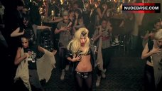 Lady Gaga Hot Scene – Judas