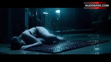 10. Lydia Hearst in Lingerie under Shower – Cabin Fever: Patient Zero