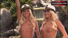 4. Karissa Shannon Shaking Nude Breasts – The Girls Next Door