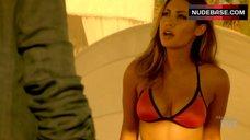 Francia Raisa Hot in Bikini Bra – Rosewood