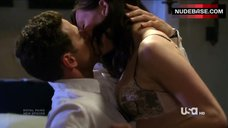 Jill Flint in Sexy Lingerie – Royal Pains