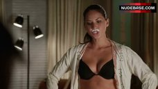 Olivia Munn Sexy in Black Lingerie – Freeloaders