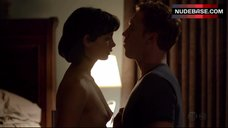 Morena Baccain Exposed Breasts – Homeland