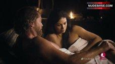 Morena Baccain Sensual Scene – The Red Tent