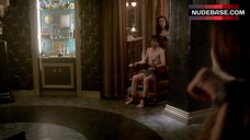 2. Deborah Ann Woll Bound in Lingerie – True Blood