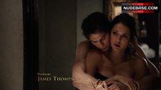 Nina Dobrev Only in Towel – The Vampire Diaries