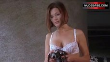 7. Madeleine West Sexy in Lace Lingerie – Satisfaction