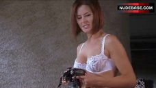 8. Madeleine West Sexy in Lace Lingerie – Satisfaction