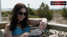 Lily Collins Bikini Scene – Stuck In Love