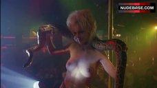 Barbara Alyn Woods Topless Dance with Snake – Striptease