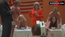 Mary Woronov Nude Massage  – Death Race 2000