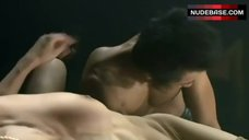 7. Aya Sugimoto Group Sex Scene – Flower And Snake