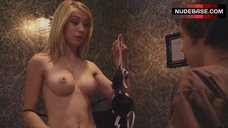 7. Jennifer Holland Topless in Dressing Room – American Pie Presents: The Book Of Love