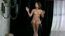12. Kari Wuhrer Nude Posing – Luscious
