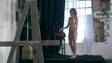 2. Kari Wuhrer Nude Posing – Luscious