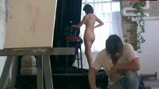 4. Kari Wuhrer Nude Posing – Luscious