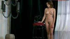 8. Kari Wuhrer Nude Posing – Luscious