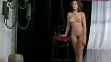 9. Kari Wuhrer Nude Posing – Luscious