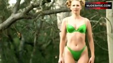 Cynthia Lamontagne in Green Bikini – American Virgin