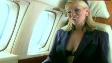 2. Zoe Lucker Hot Scene in Airplane – Footballers' Wives