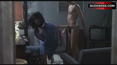 Katrin Cartlidge Naked Tits Through Open Shirt – Naked