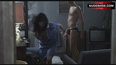 3. Katrin Cartlidge Naked Tits Through Open Shirt – Naked