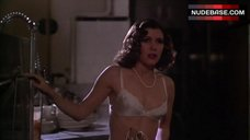 Carrie Fisher in Sexy Lingerie – Under The Rainbow