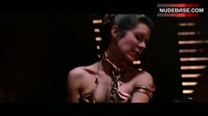 Carrie Fisher Sexy Scene – Return Of The Jedi