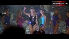 Sarah Michelle Gellar in Black Swimsuit – I Know What You Did Last Summer