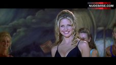 7. Sarah Michelle Gellar in Black Swimsuit – I Know What You Did Last Summer