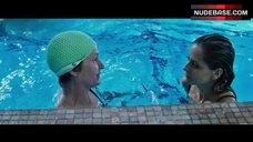 8. Sarah Michelle Gellar Swimming in the Pool – Veronika Decides To Die