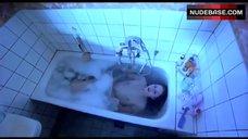 2. Tuva Novotny Shows Tits in Bath – Slim Susie