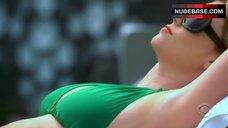 Diora Baird in Green Bikini – Shark