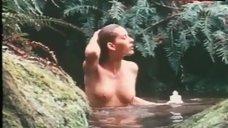 Sandra Hess Nude in River – Endangered