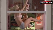 6. Sexy Sara Paxton in Window – Superhero Movie